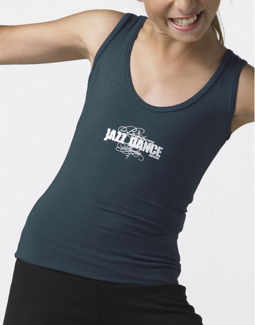 Tank Top with wide straps - VITALIS JR JAZZ TANK TOP