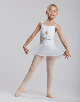 Skirted Leotard Mallia Jr Princess Temps Danse